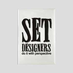 Set Designers do it with Pers Rectangle Magnet