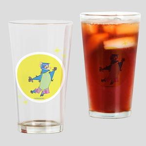 Hoppy Bear Drinking Glass