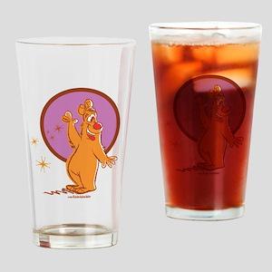Redd Bear Drinking Glass
