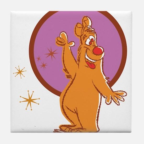 Redd Bear Tile Coaster