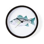 White Bass ft Wall Clock