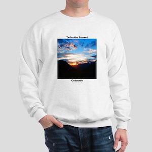 Sweatshirt - Telluride Sunset / Bridal Veil Falls