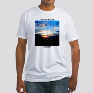 Fitted T-Shirt / Telluride Sunset