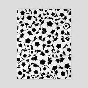Soccer ball pattern Twin Duvet