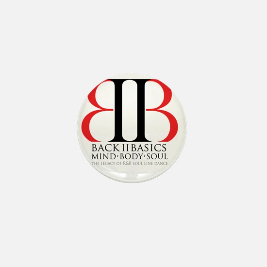 Back II Basics Mini Button