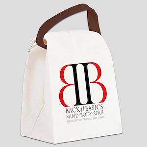 Back II Basics Canvas Lunch Bag