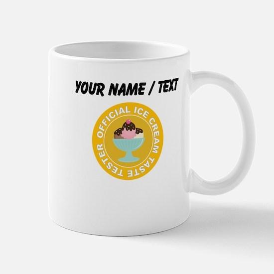 Custom Ice Cream Taste Tester Small Mug