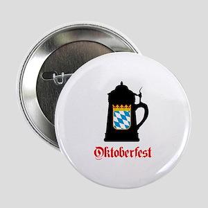 "Oktoberfest Beer Mug 2.25"" Button"