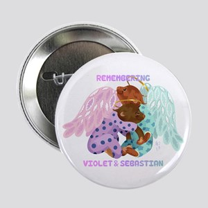 "Violet and Sebastian 2.25"" Button"