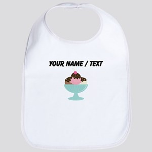 Custom Ice Cream Sundae Bib