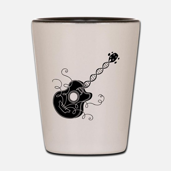 Music in the DNA Shot Glass