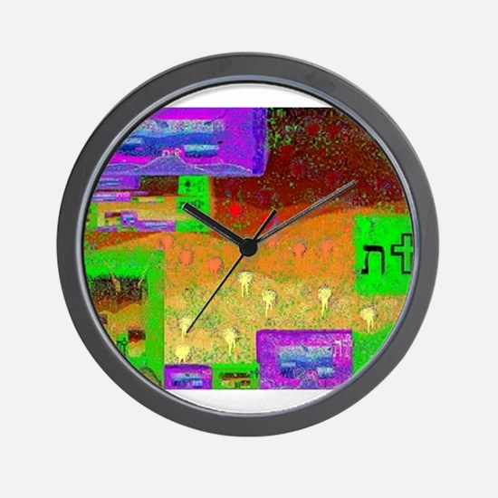 Tau - At The Crossroad by Bre Wall Clock