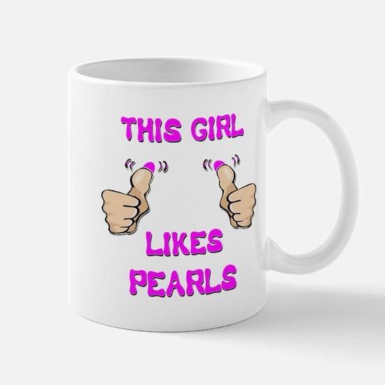 This Girl Likes Pearls Mug