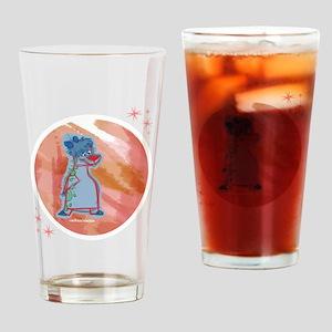 Spotty Scotty Bear Drinking Glass