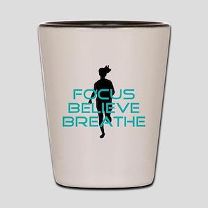 Aqua Focus Believe Breathe Shot Glass