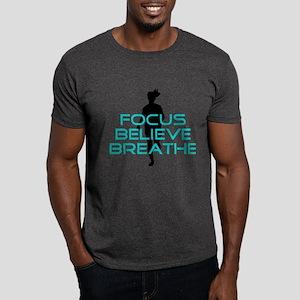 Aqua Focus Believe Breathe Dark T-Shirt