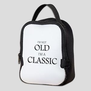 I'm not OLD, I'm CLASSIC Neoprene Lunch Bag