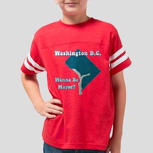 dc1 black tee Youth Football Shirt
