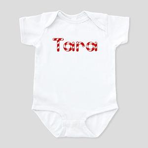 Tara - Candy Cane Infant Bodysuit