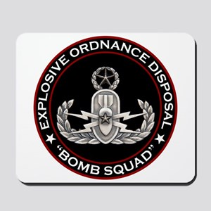 Master EOD Bomb Squad Mousepad