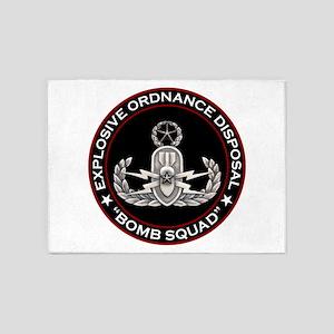 Master EOD Bomb Squad 5'x7'Area Rug
