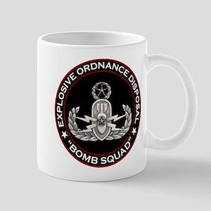 Master EOD Bomb Squad Mug