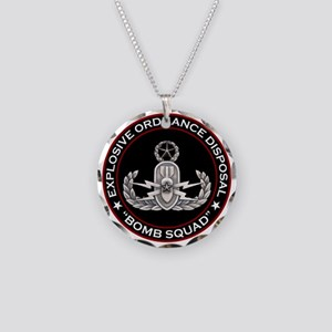 Master EOD Bomb Squad Necklace