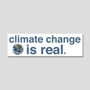 Climate Change Car Magnet 10 X 3
