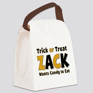 Zack Trick or Treat Canvas Lunch Bag
