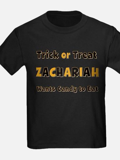 Zachariah Trick or Treat T-Shirt
