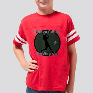 bnbaseballgreen Youth Football Shirt