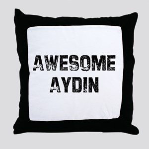 Awesome Aydin Throw Pillow