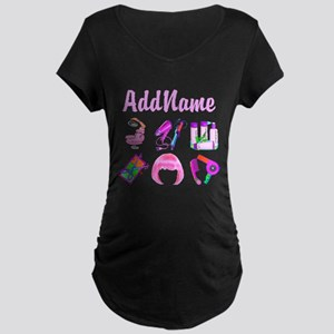 WILD HAIR STYLIST Maternity Dark T-Shirt