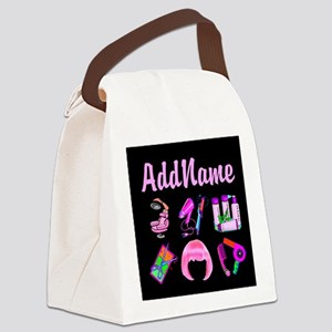 WILD HAIR STYLIST Canvas Lunch Bag