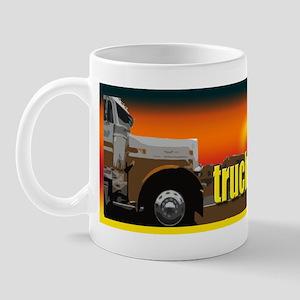 A Trucker Brought It Mug