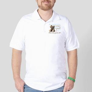 2-MyDaughterWearsCombatBoots Golf Shirt