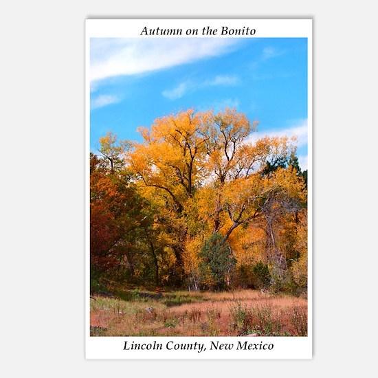 Postcards (8)  Autumn on the Bonito (a)