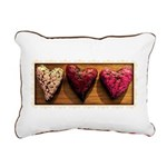 Sweetheart Stamp Rectangular Canvas Pillow