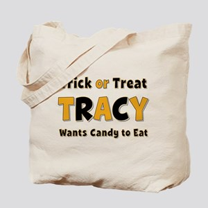 Tracy Trick or Treat Tote Bag