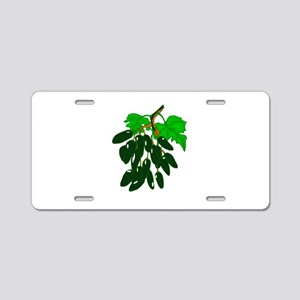 Bunch of peppers green Aluminum License Plate