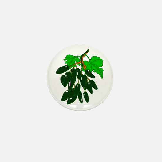 Bunch of peppers green Mini Button