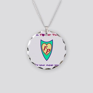 What's your super power? Necklace Circle Charm