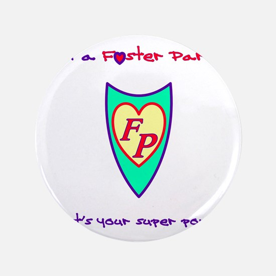"""What's your super power? 3.5"""" Button"""