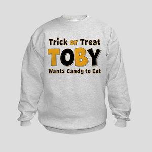Toby Trick or Treat Sweatshirt