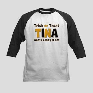 Tina Trick or Treat Baseball Jersey