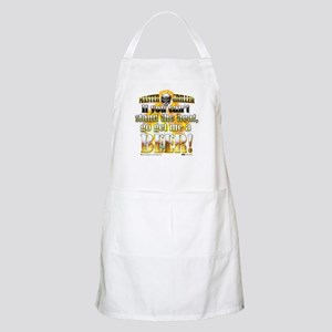 """Get Me A Beer!"" BBQ Apron"