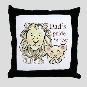 Dads Pride n Joy Throw Pillow