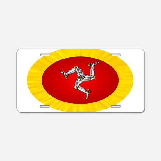 Isle of Man Aluminum License Plate