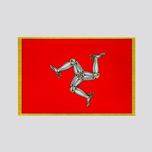 Isle of Man Rectangle Magnet
