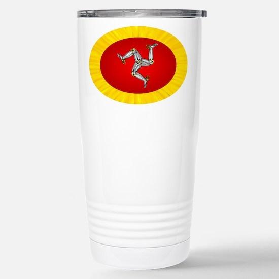Isle of Man Travel Mug